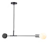 Industrial   pendant  Lamp with natural marble  CL1203-CH