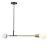 Industrial   pendant  Lamp with natural marble  CL1203-G
