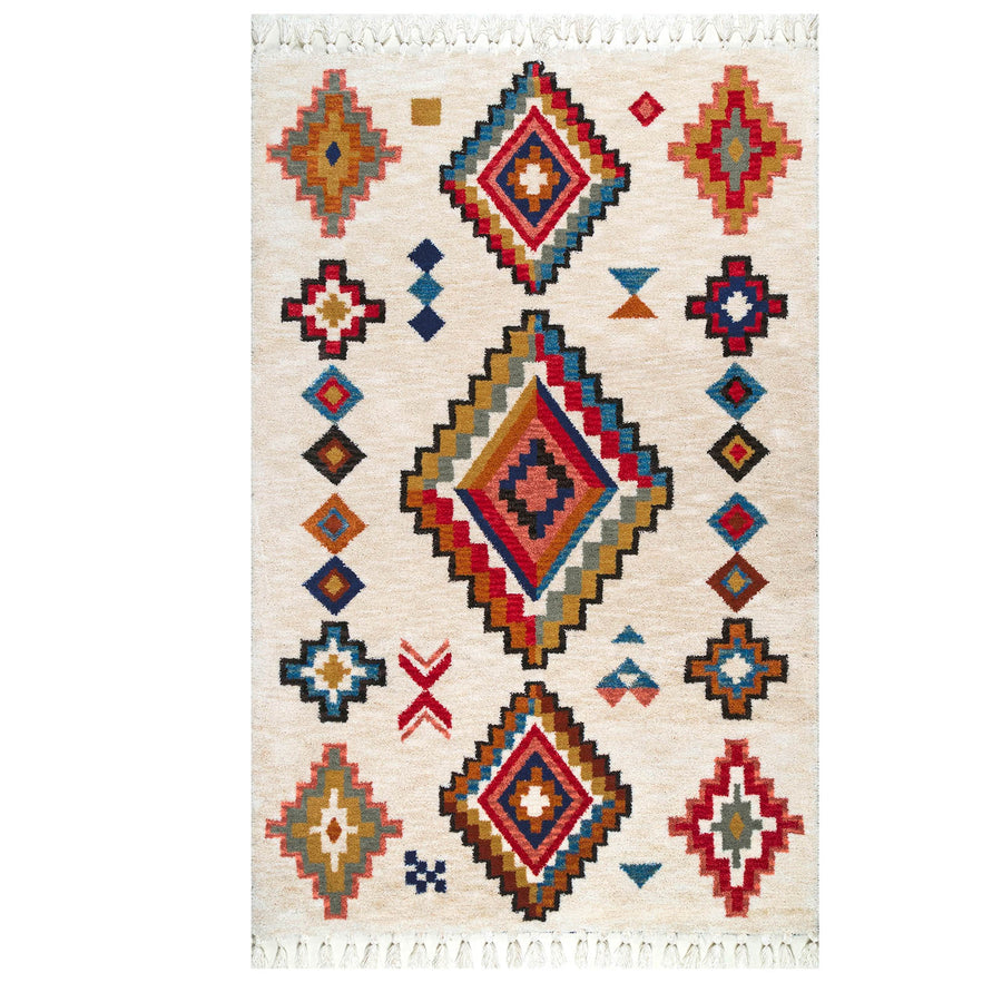Pre-Order 15 days delivery 230X160 cm  AMAK handmade Wool Rug JH-20012-L