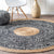250 CM Braided Round handmade Wool Rug JH-2350-XL -  سجادة صوف دائرية مجدولة 250 سم - Shop Online Furniture and Home Decor Store in Dubai, UAE at ebarza