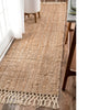 90X300 cm Braided handmade Jute Rug JH-2339-Long