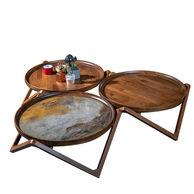Set of 3 PASSION CENTER tables