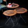 Set of 3 MOSS SERVICE table