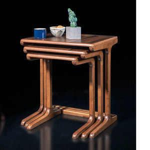 Set of 3 LOTTO SERVICE nesting tables