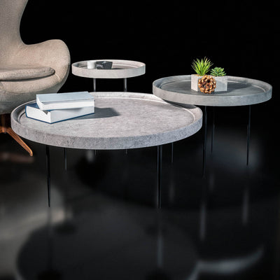PRE-ORDER 40 days Delivery set of 3 LEON CENTER tables