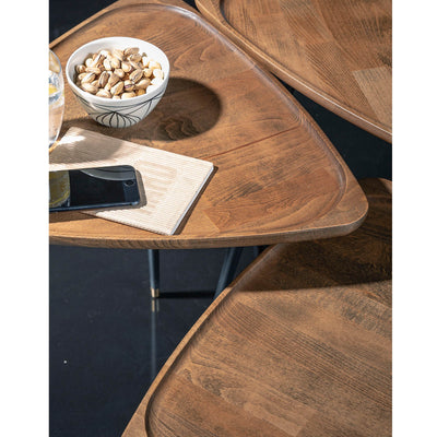Set of  3 BAFFI SERVICE tables