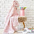 Karaca Home Baby Star PINK  Baby Pique 200.16.01.0412 -  طقم حمام للأطفال من كاراجا - Shop Online Furniture and Home Decor Store in Dubai, UAE at ebarza