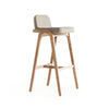 Natura  Solid Ash wood  Bar Chair  NaturaBar-N-28903