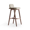Natura  Solid Ash wood Bar stool  NaturaBAR-W-28903