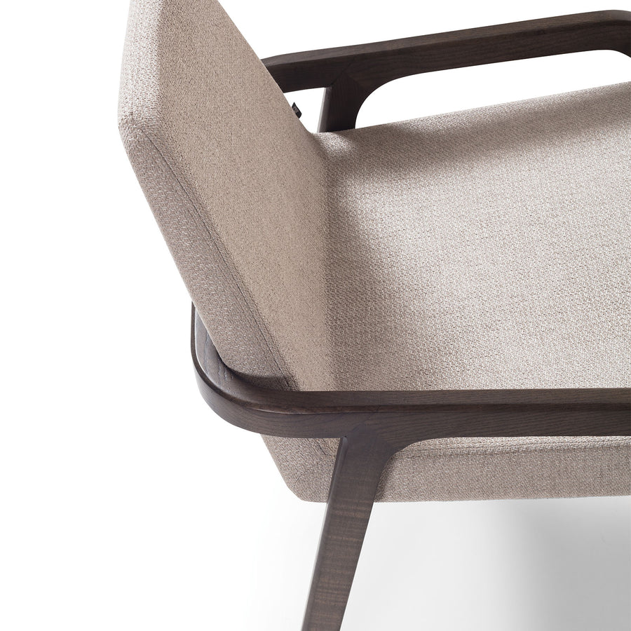 Pre-order 30 days delivery Natura  Solid Ash wood Lounge Chair  NaturaLounge-B-28901