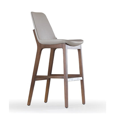 Porto Solid Ash wood BAR STOOL   PORTO-W-2618