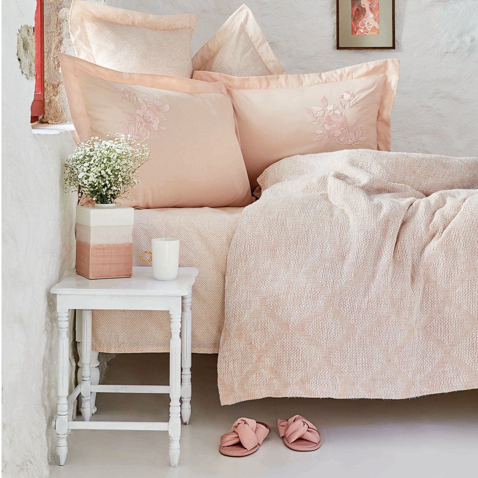 MIRACLE BLUSH  Bedding  Set 200.16.01.0052