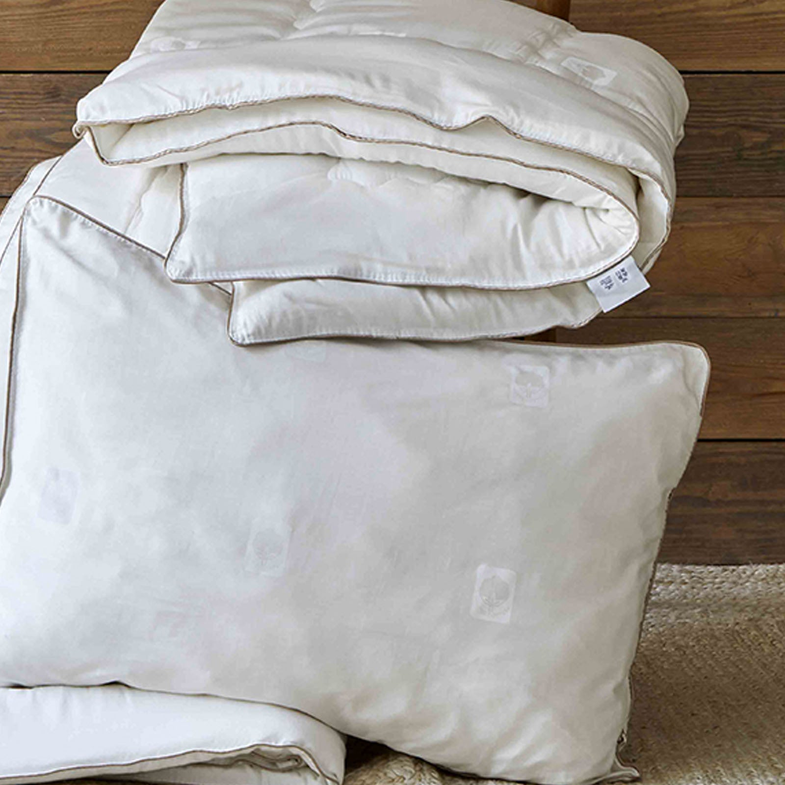 Pre-order 45 days delivery Set of Double Cotton Quilt - 2 Pieces With Cotton Pillow 200.15.01.0258