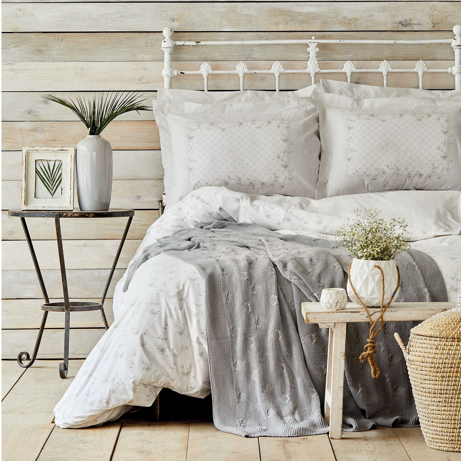 FRONDA GRI   Bedding  Set 200.16.01.0210
