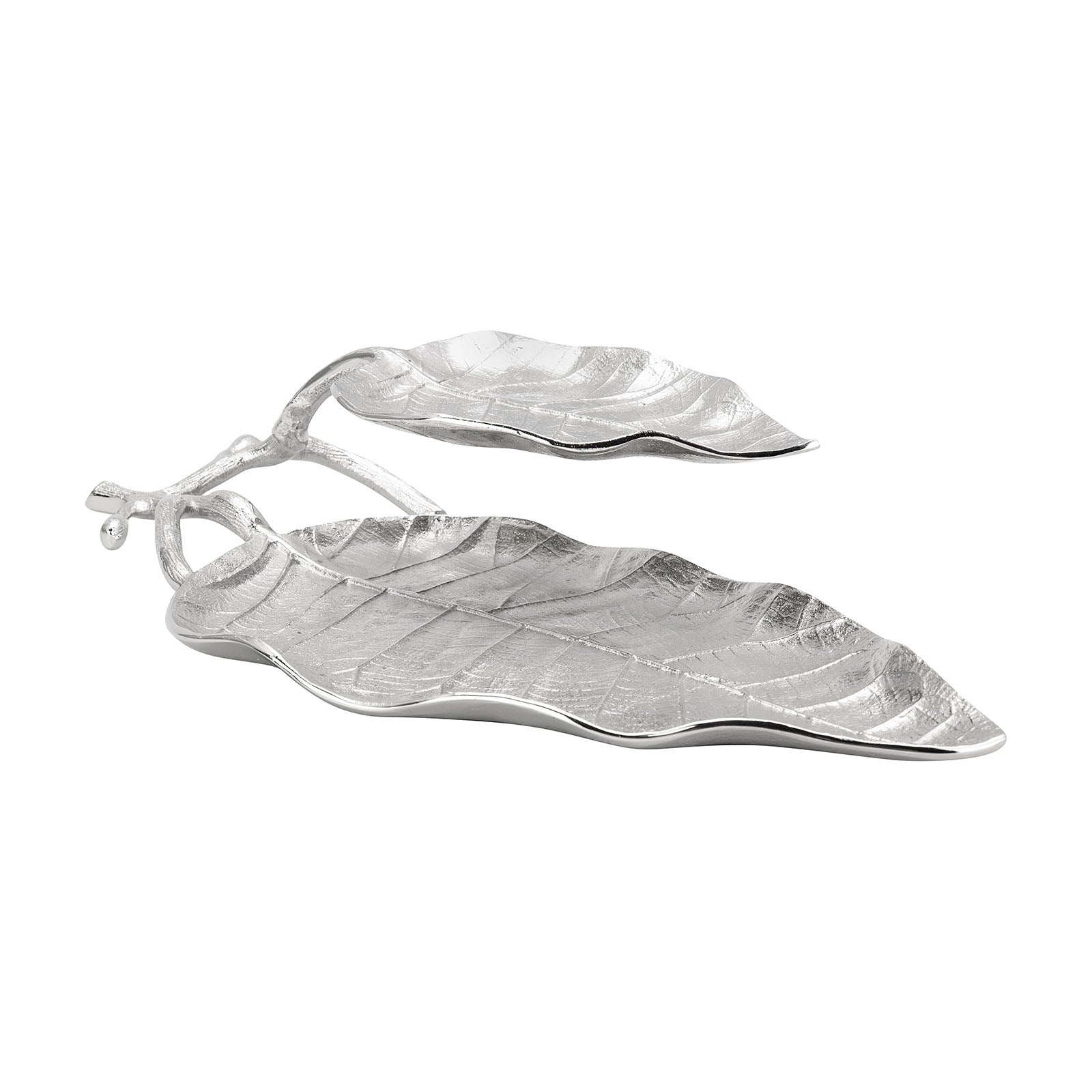 2 Layer Leaf Plate 26x45 cm  153.19.01.1188 - ebarza