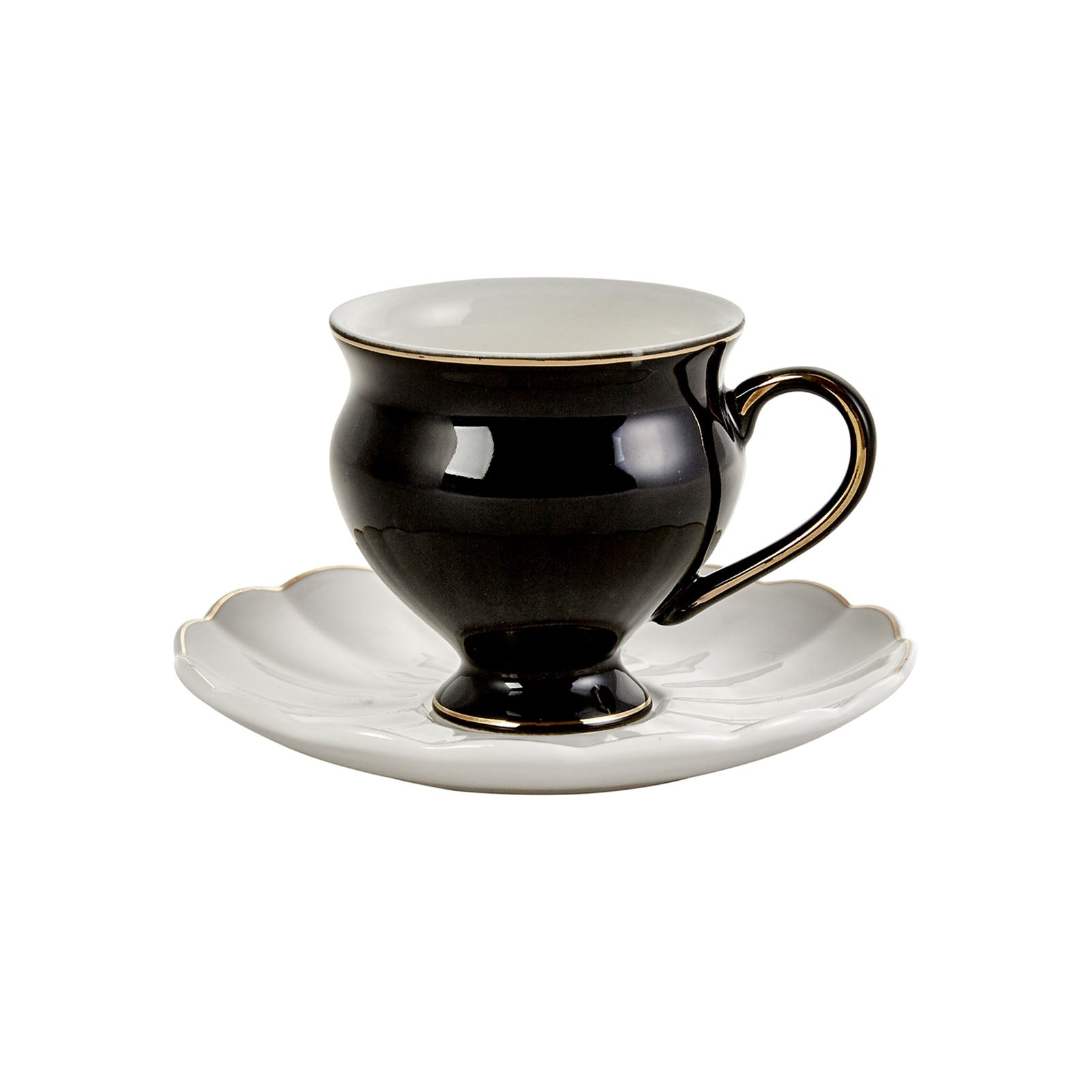 Black Swan 6 Seater Coffee Cup Set 153.01.01.3874 -  طقم فناجين قهوة 6 مقاعد بلاك سوان - Shop Online Furniture and Home Decor Store in Dubai, UAE at ebarza