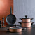 BioDiamond Rose Gold 7 Piece Cookware Set 1296 153.03.07.7039 - ebarza