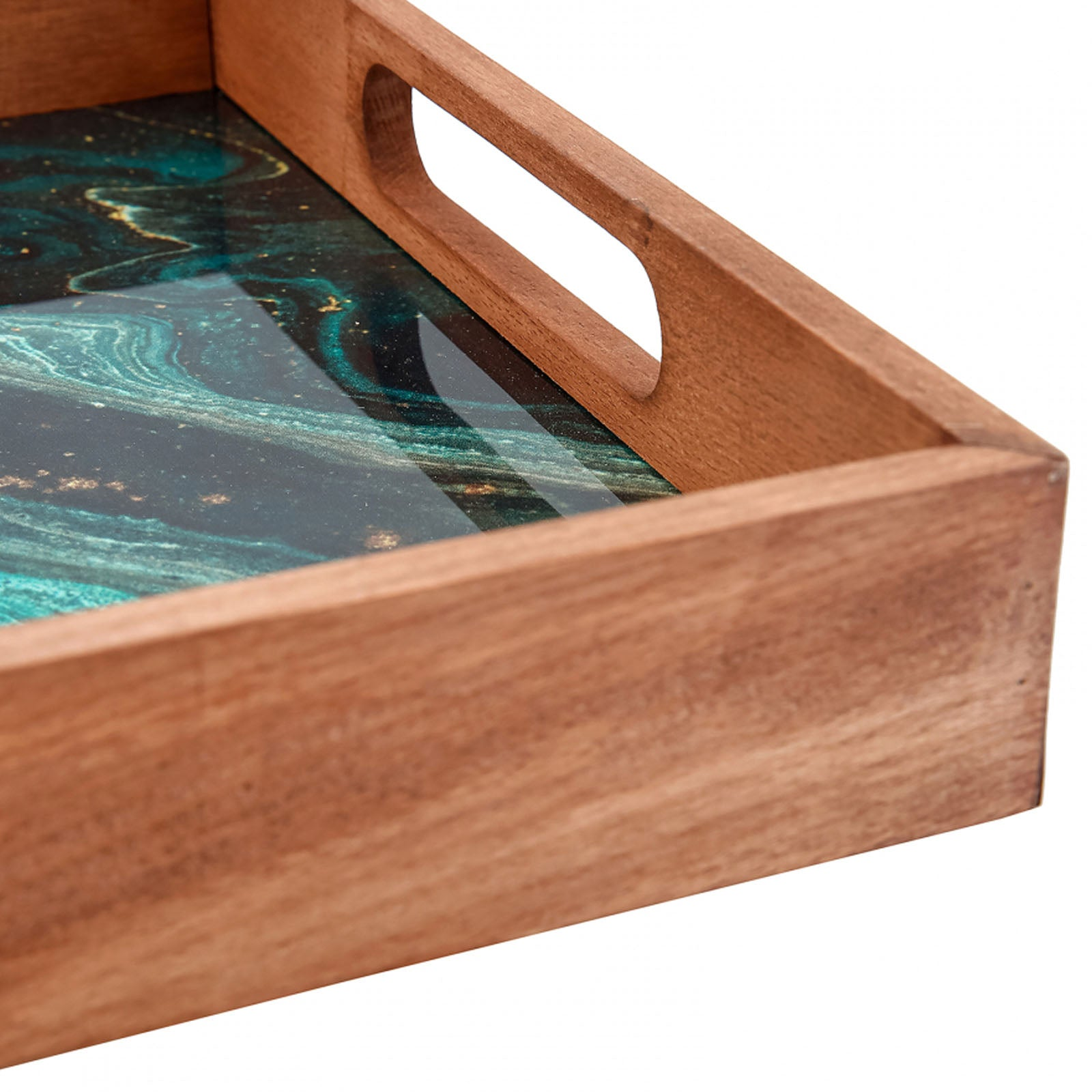 Karaca Galaxy Wooden Tray 153.03.07.9775