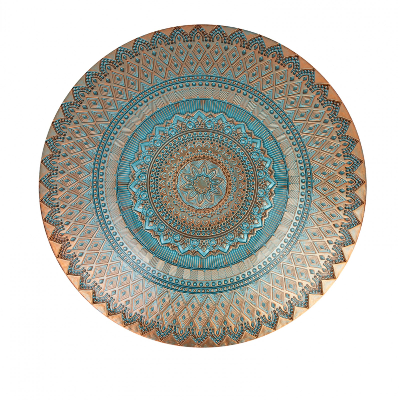 Karaca Murcia Decorative Plate Blue 153.19.01.1080