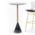 Pre-Order 60 days deliver Madrid Natural marble Bar table ST8644-60B-BK