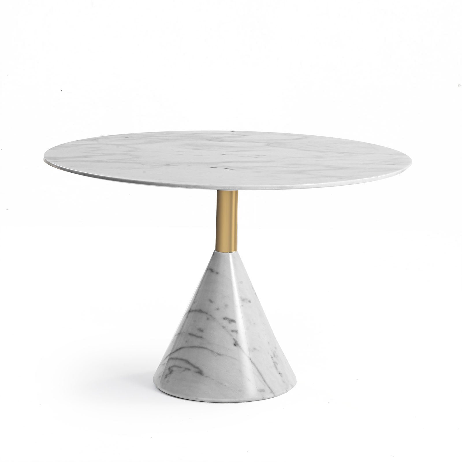 Madrid  Natural marble side Table ST8644-70A-WE