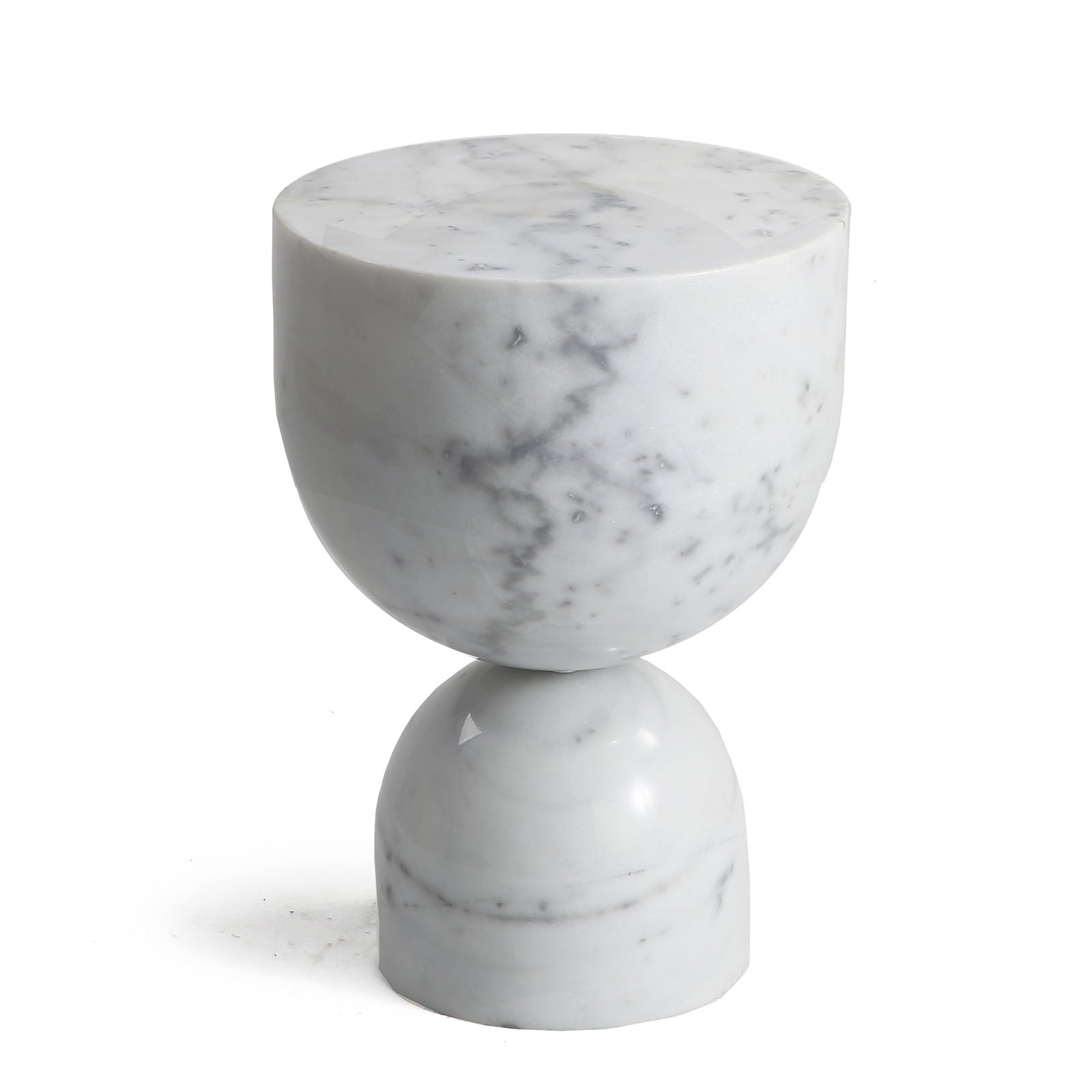 Chess Natural marble side Table ST8687-30-WE