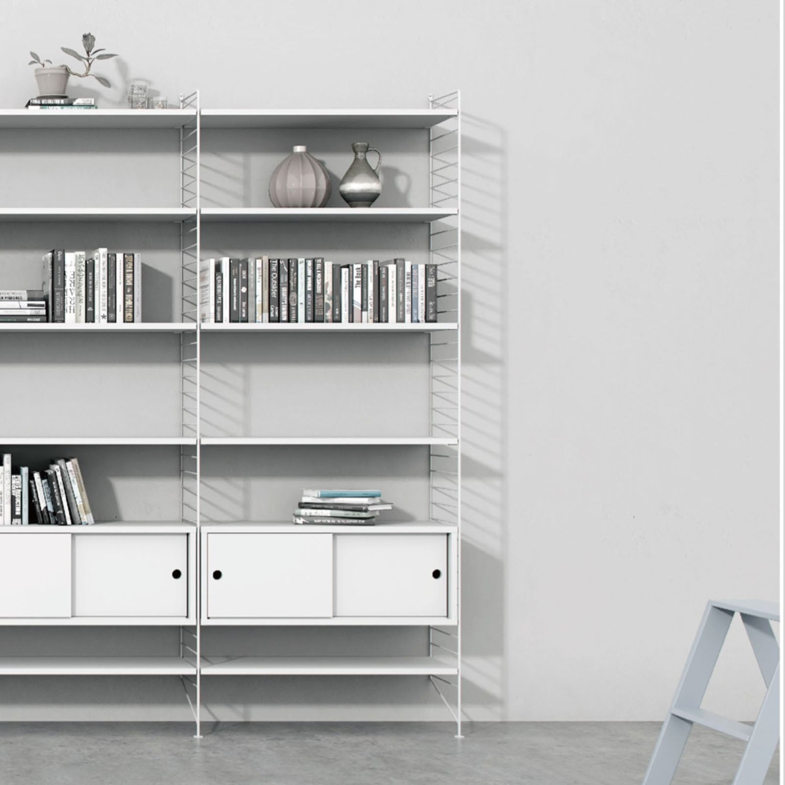Marseilia   Modular Shelf  LL-128 -  رف من مرسيليا - Shop Online Furniture and Home Decor Store in Dubai, UAE at ebarza
