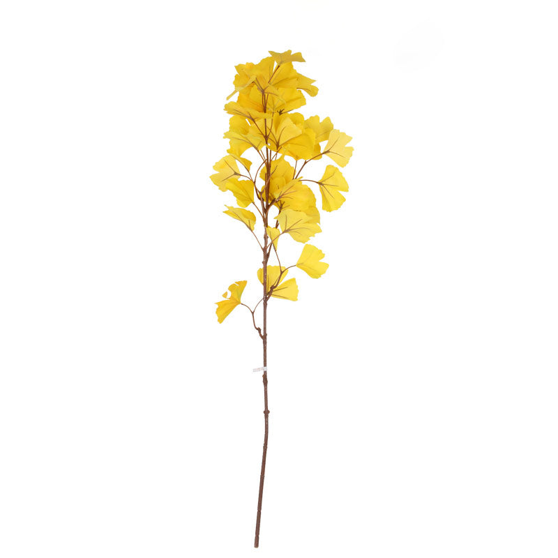 Pre-Order 40 Days Handmade Artificial Ginkgo leaf FA-JH1905 -  اطلب مسبقًا 40 يومًا من أوراق الجنكة الاصطناعية المصنوعة يدويًا - Shop Online Furniture and Home Decor Store in Dubai, UAE at ebarza