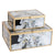 2x Handmade Decorative/JEWELRY BOX FACBJ11A+FACBJ11B -  2x ديكور يدوي / صندوق مجوهرات - Shop Online Furniture and Home Decor Store in Dubai, UAE at ebarza