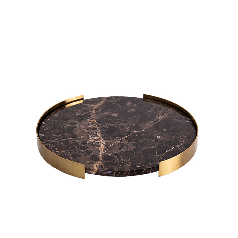 Pre-Order 40 Days Brown Marble tray-B FB-T2019B -  اطلب مسبقًا صينية من الرخام البني لمدة 40 يومًا - Shop Online Furniture and Home Decor Store in Dubai, UAE at ebarza