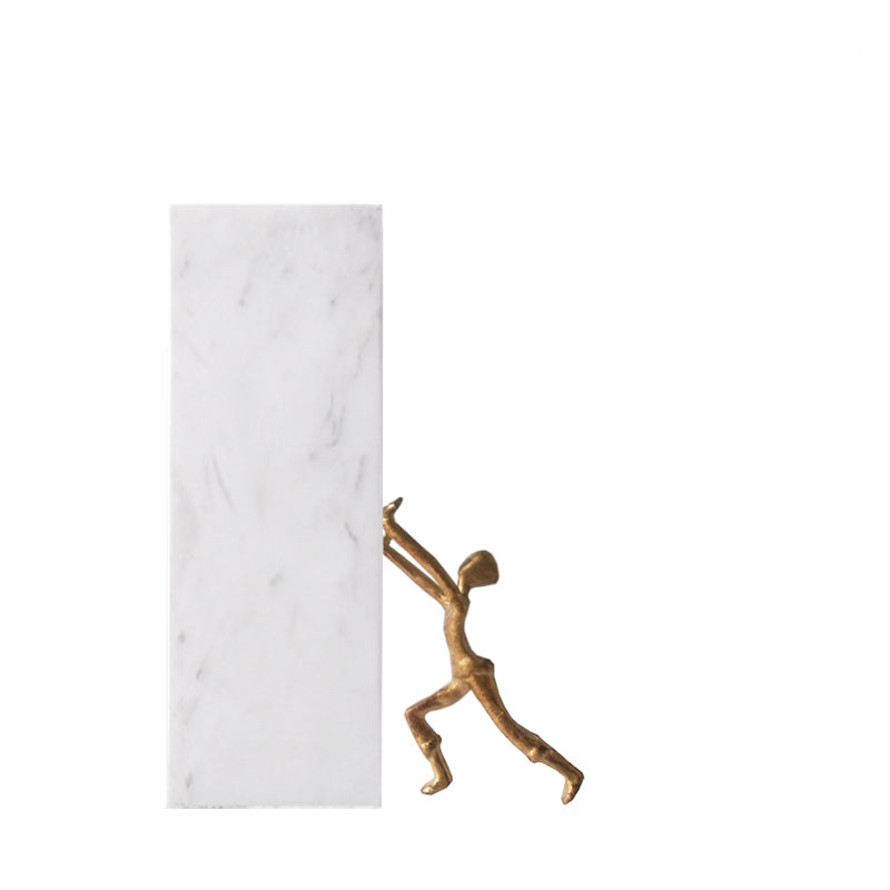 PRE-ORDER 40 DAYS DELIVERY NATURAL MARBLE  BOOK HOLDER FB-W1901 -  حامل كتب من الرخام الطبيعي - Shop Online Furniture and Home Decor Store in Dubai, UAE at ebarza
