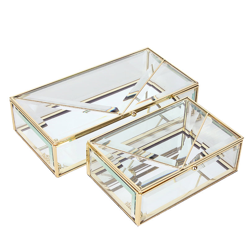 2x Handmade Decorative/JEWELRY BOX FC-ZS1911A+B - ebarza