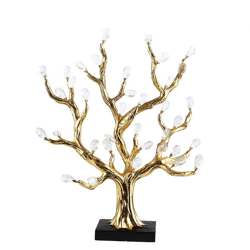 Pre-Order 40 days  Delivery golden tree decor FL-882