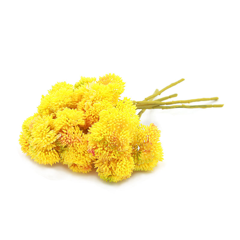 Real Touch Hydrangea Fruit,Yellow FL-JH220 -  فاكهة الكوبية م نريل توتش - Shop Online Furniture and Home Decor Store in Dubai, UAE at ebarza