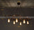 6 heads Industrial Rustic wheels   Chandelier  CY-DD-212