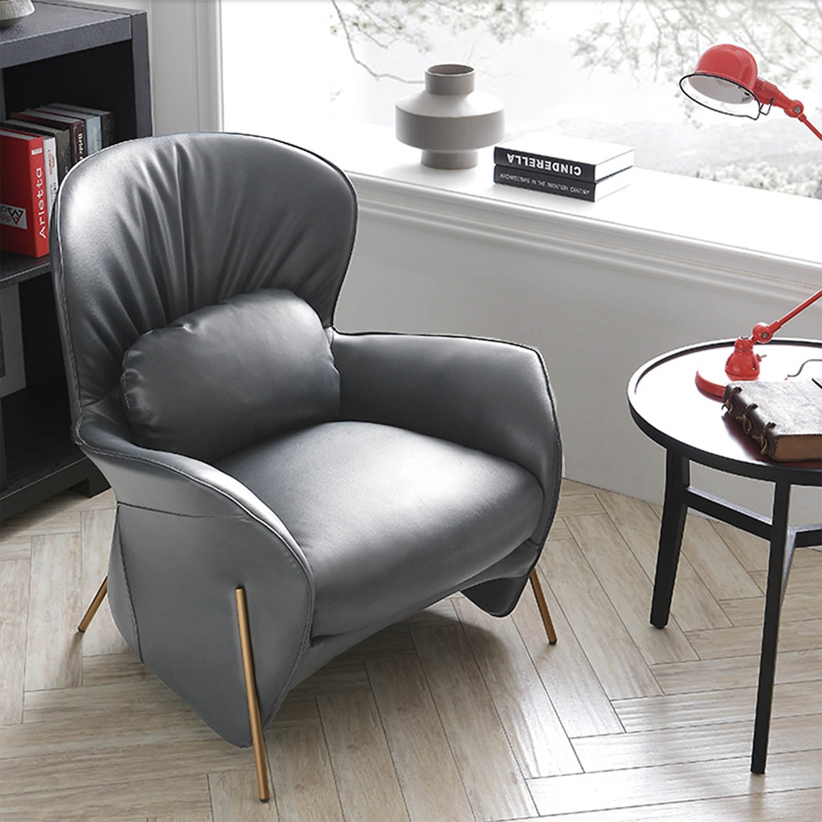 Pre-Order 60 days delivery Metz Lounge Chair LC021-G - ebarza