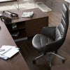 Modern Manager Office Chair Genuine leather 90666
