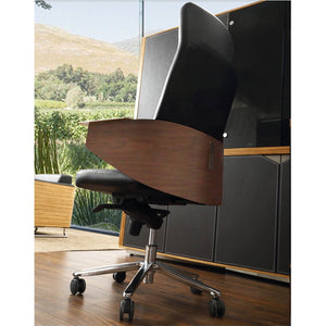 Modern Manager Office Chair Genuine leather 90622
