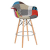 Bar Chair-Fabric- MSB0011F - ebarza