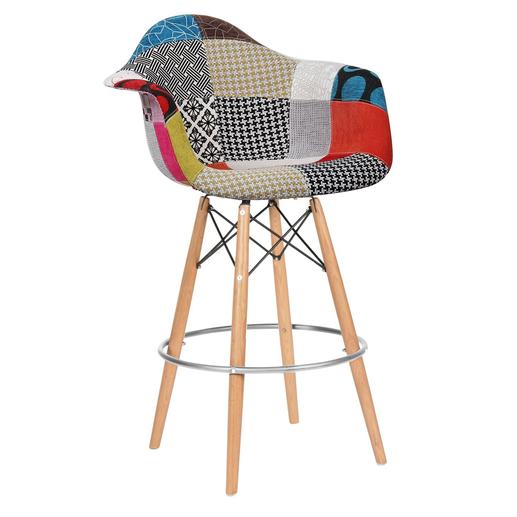 Bar Chair-Fabric- MSB0011F -  كرسي مرتفع - قماش - Shop Online Furniture and Home Decor Store in Dubai, UAE at ebarza