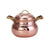 Karaca Nish Copper New 17 cm Tombik Copper Pot 153.03.07.9115 - ebarza
