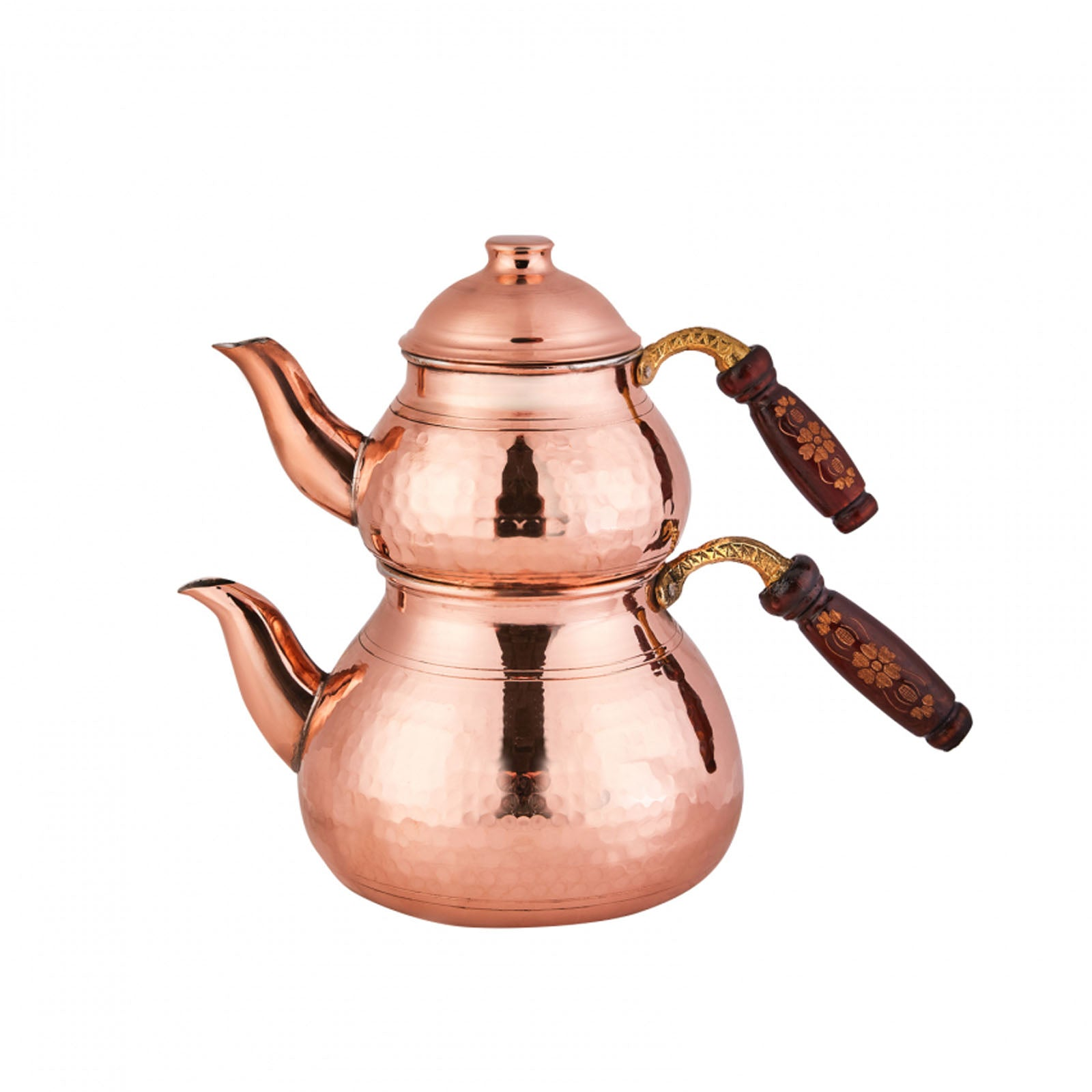 Karaca Nish Copper New Copper Teapot Set 153.03.07.9114 - ebarza