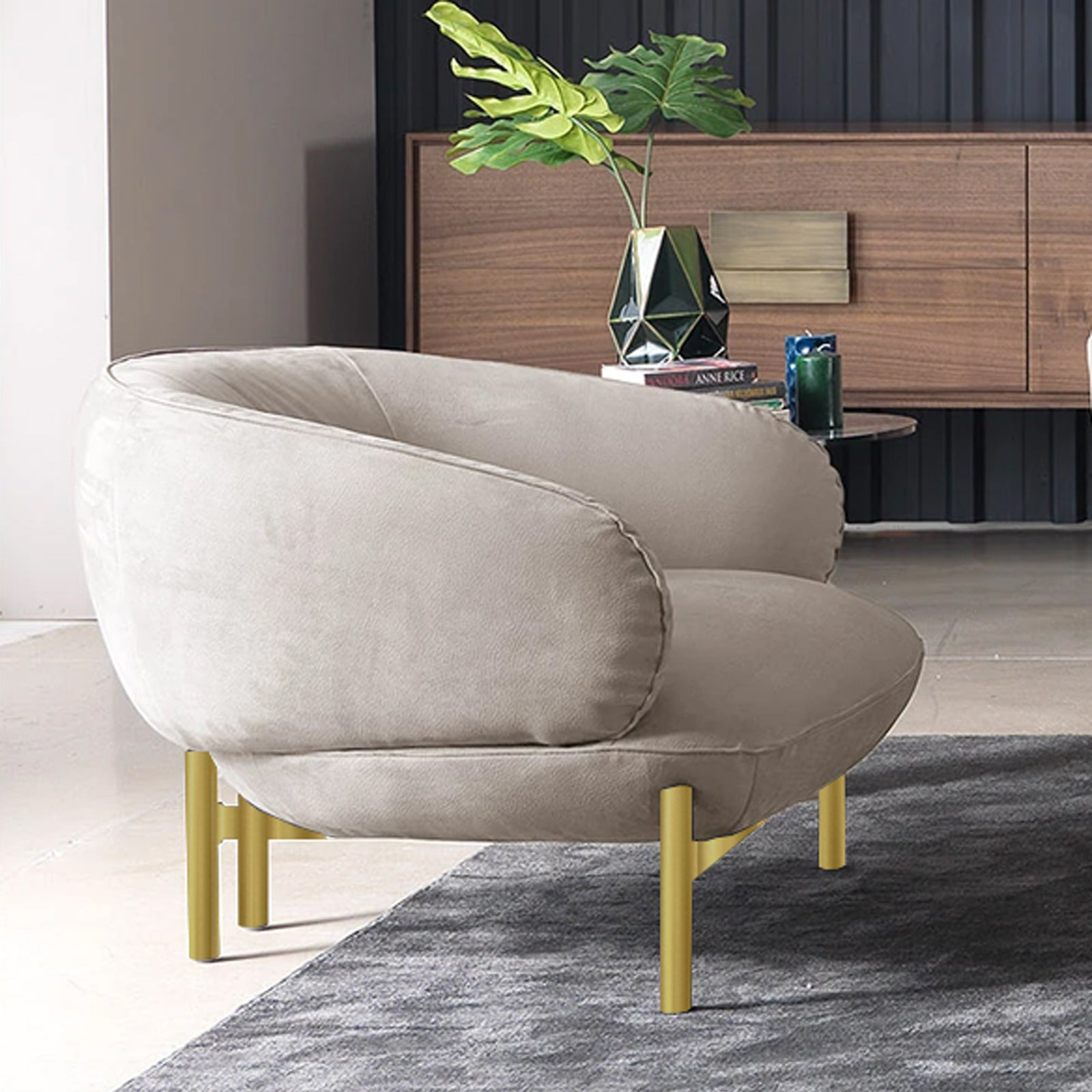 NEXT Armchair   NEXT002-chair-B -  كرسي بذراعين نيكست - Shop Online Furniture and Home Decor Store in Dubai, UAE at ebarza
