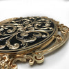 Handmade Zinc decorative Tray  Royal 48104AI00 - ebarza