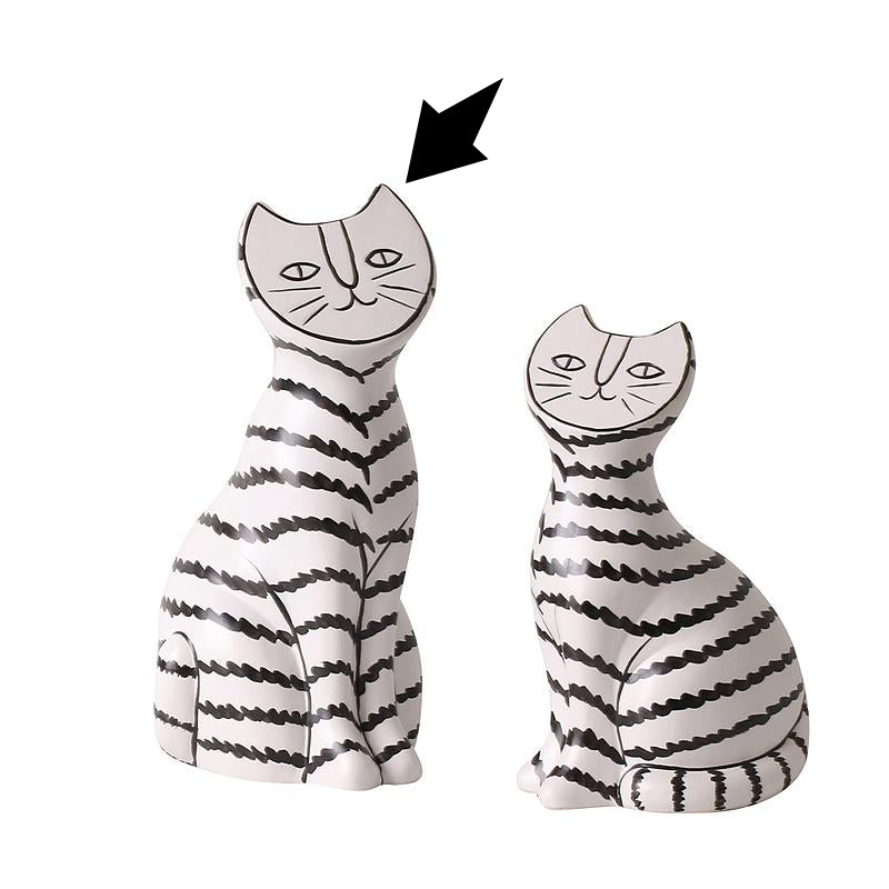 PRE-ORDER 40 DAYS DELIVERY Cat ornament -A FA-D2089A -  اطلب مسبقًا 40 يومًا للتوصيل زينة القط - Shop Online Furniture and Home Decor Store in Dubai, UAE at ebarza