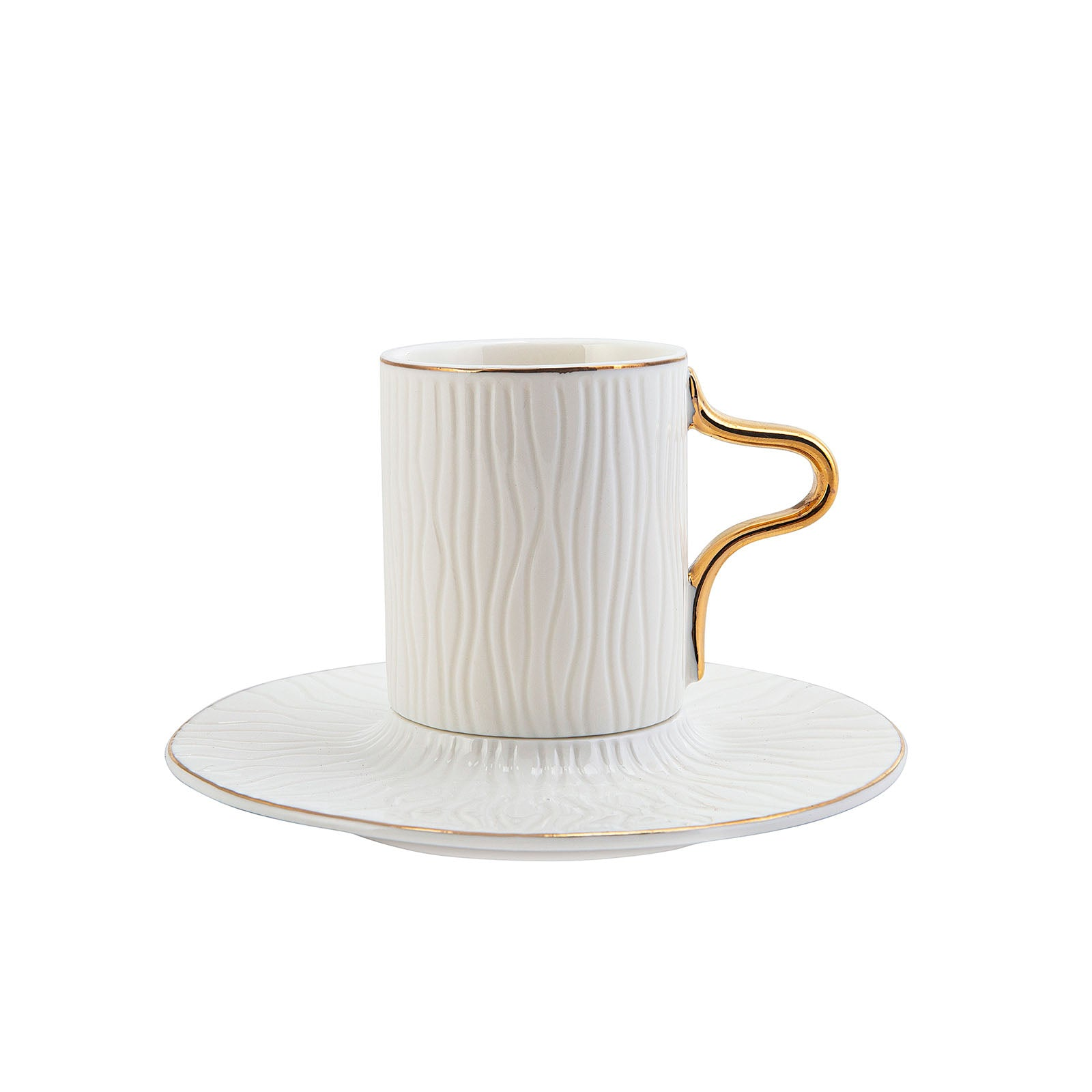 Karaca Aged Set of 6 Coffee Cups 153.03.07.8414 -  مجموعة فناجين قهوة كاراجا من 6 فناجين - Shop Online Furniture and Home Decor Store in Dubai, UAE at ebarza