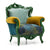 Amazon Colorium Colorful armchair PIARM002 - ebarza