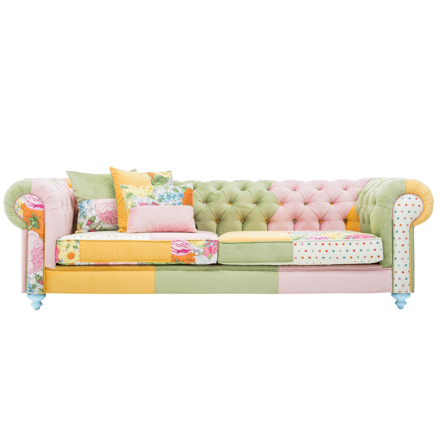 3 seats  Tropical  Coloruim  Sofa PICA001S - ebarza