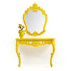 Tropical Coloruim console/dresser and Mirror    MIS17786A