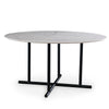 140 cm Black Jack  quartz Dinning Table  DT002 - ebarza